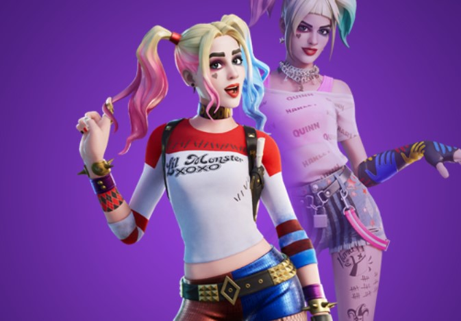 Fortnite Valentine's Day and Harley Quinn cosmetics leak after latest update