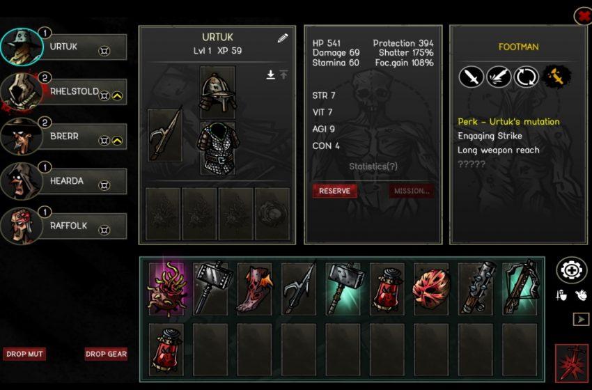 How mutator items work in Urtuk: The Desolation