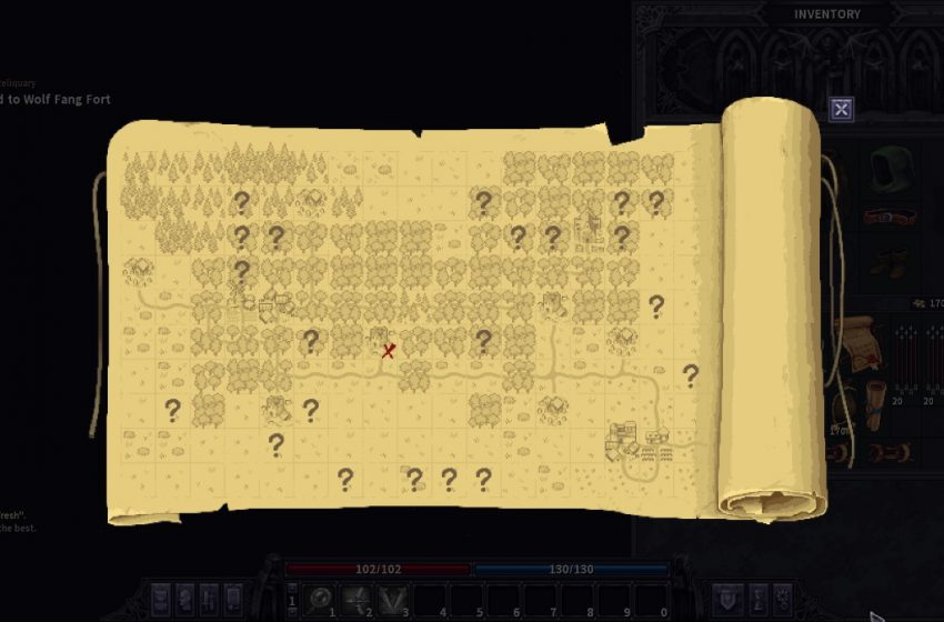 How to read your map in Stoneshard