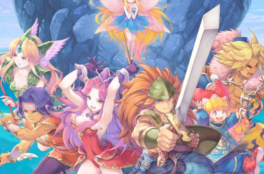 PlayStation Store leak hints at Trials of Mana demo releasing soon