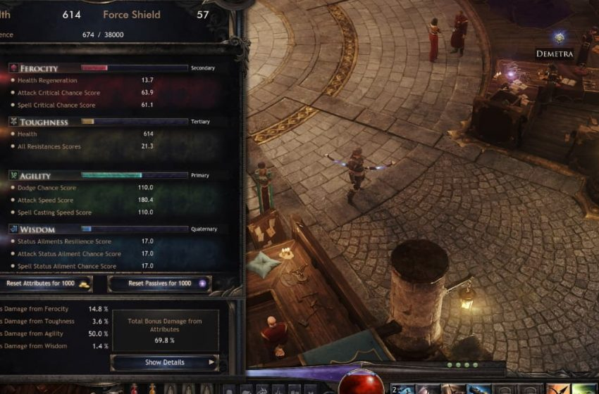 What do the stats mean in Wolcen: Lords of Mayhem