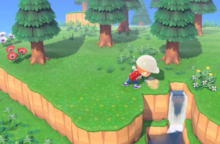 You can traverse the island with ladders, slopes, and more in Animal Crossing: New Horizons