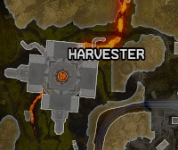 Planet Harvester on map