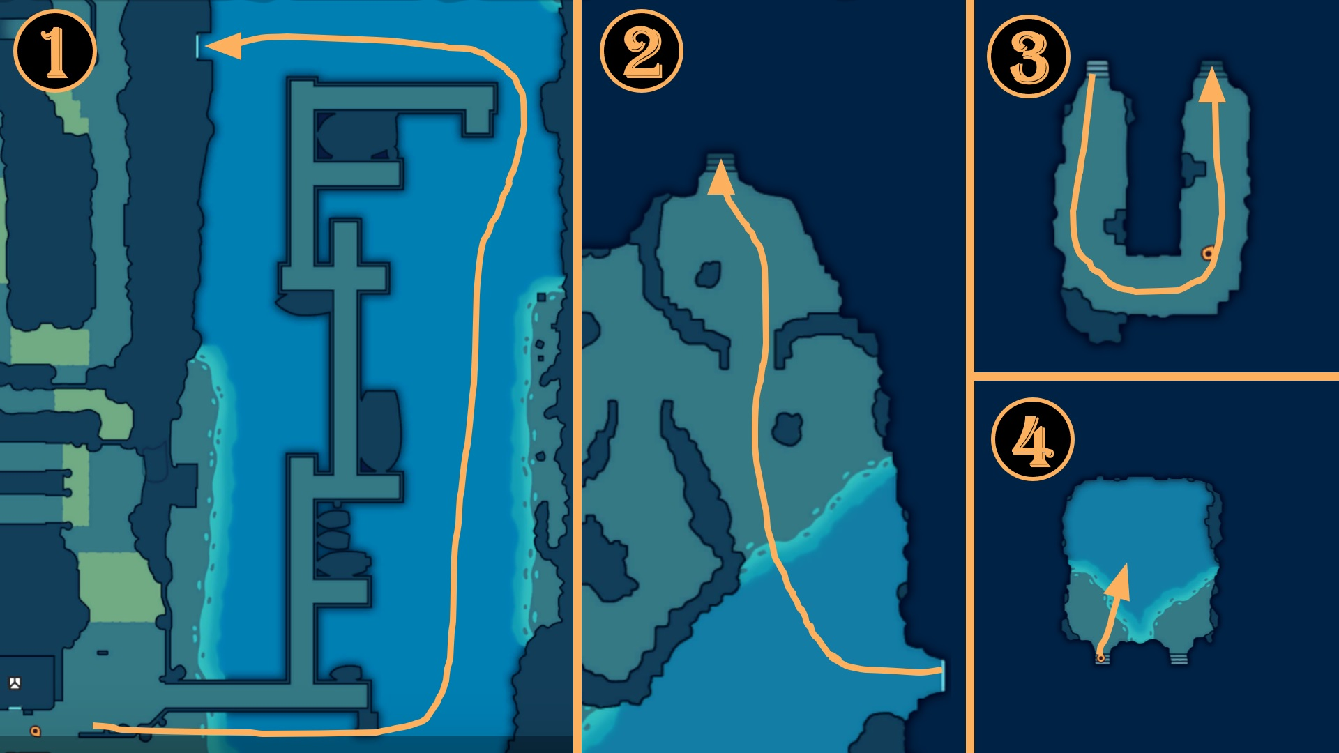 Oceara Location Guide