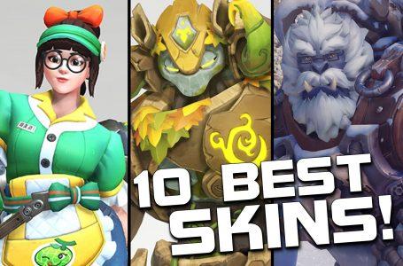10 best skins (Overwatch)
