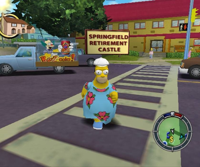 Simpsons Hit and Run Homer